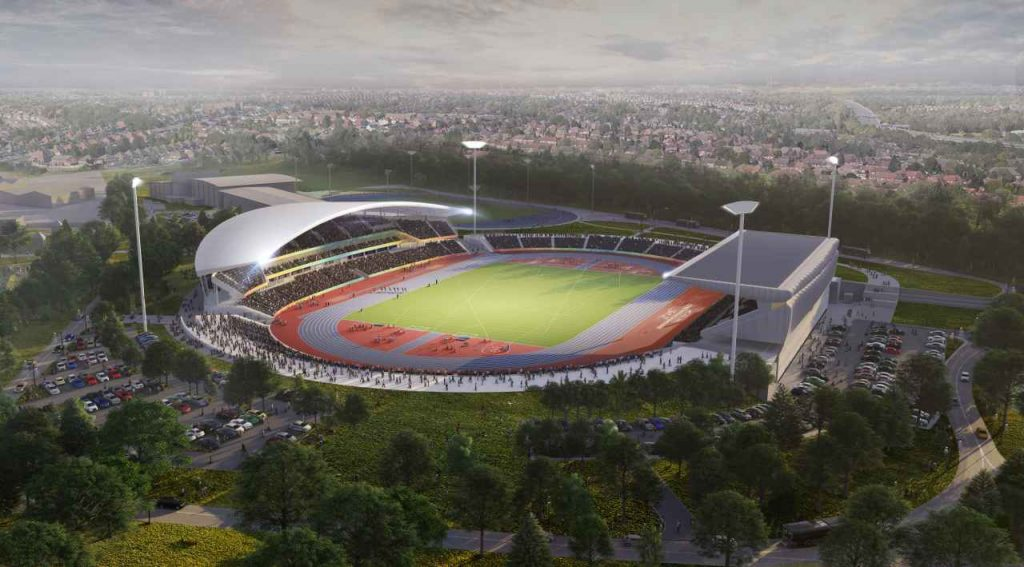 Alexander Stadium new image