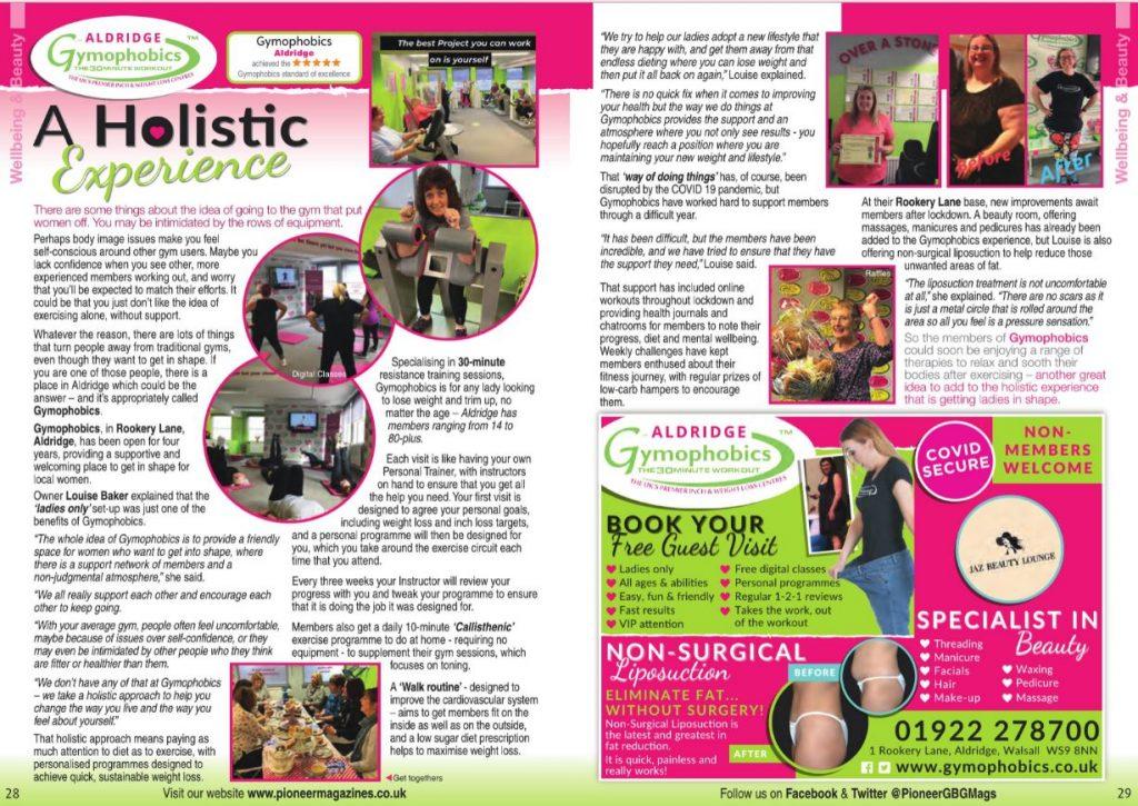 advert in magazine