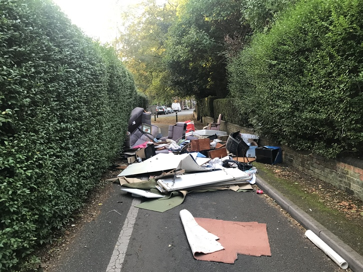 fly tipping walsall