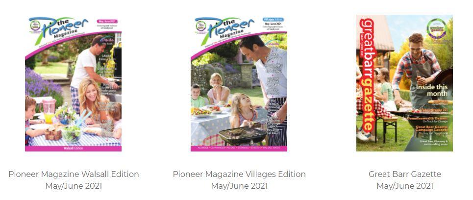 pioneer magazines edition