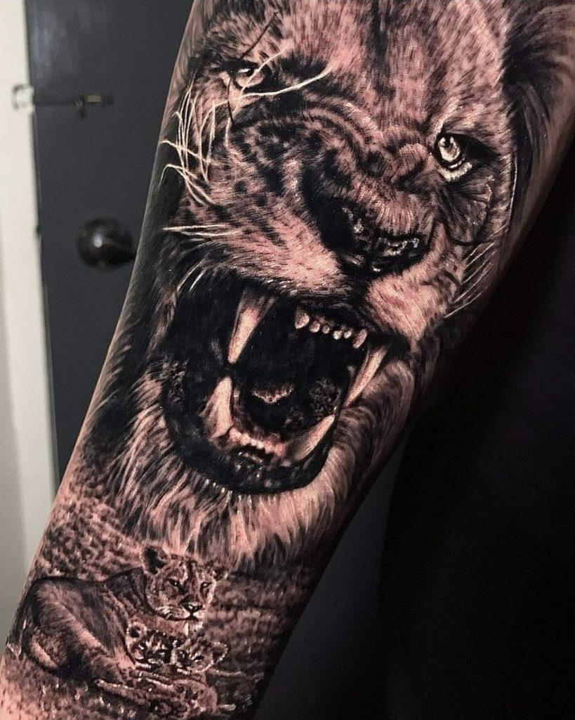 safari tattoo