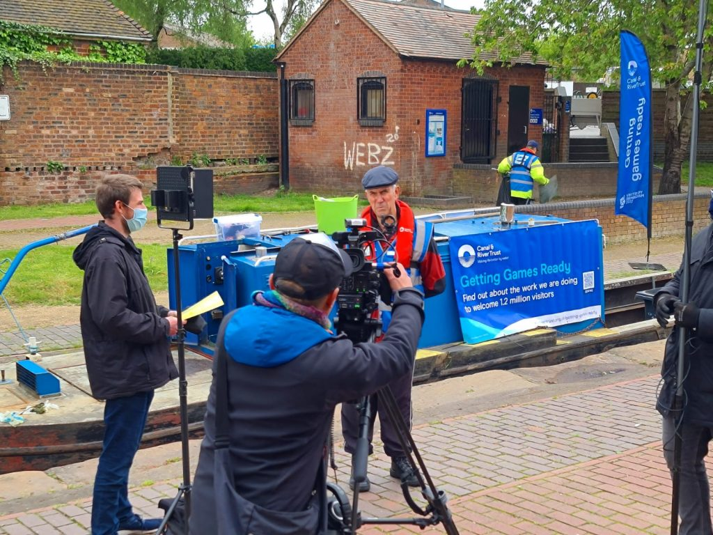 walsall canal filming