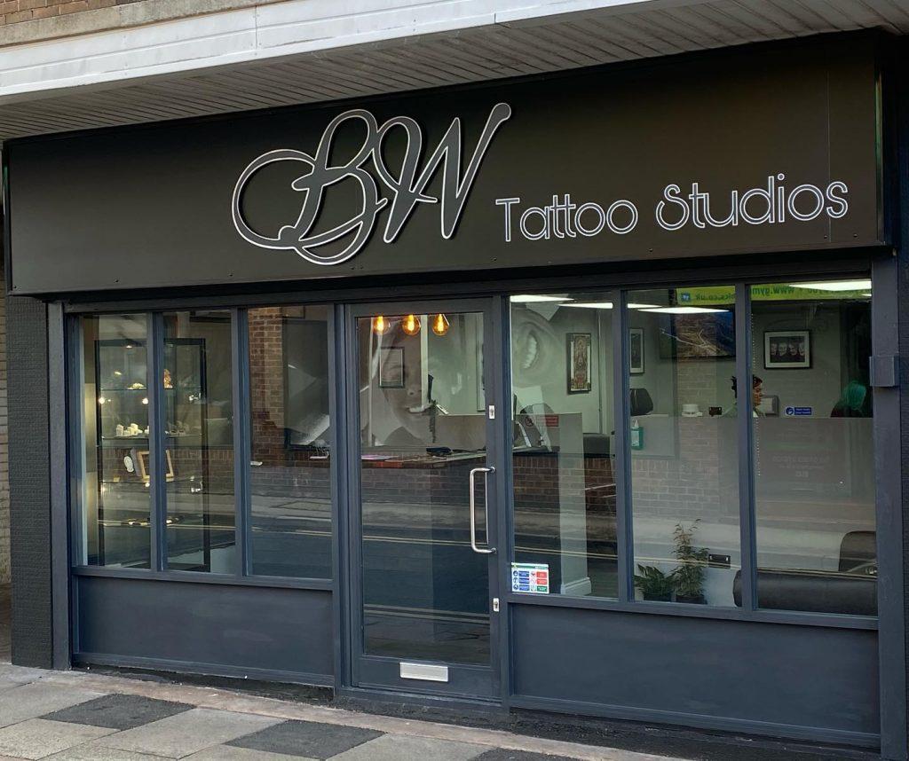 bw tattoo studios shop