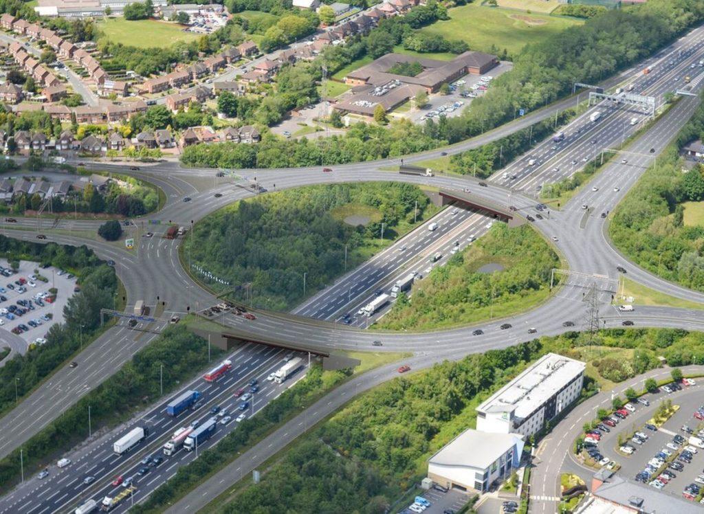 new m6 junction 10