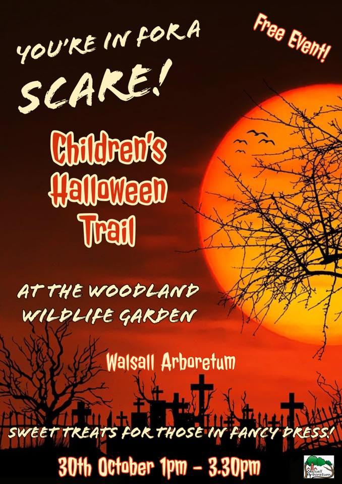 halloween trail walsall